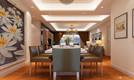 新中式88平米三房二厅二卫温暖装修效果图