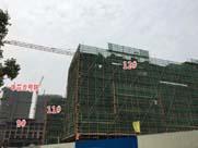 跑盘|洋房9号实景可见!景瑞悦西台4月施工进展