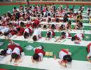 直击合肥乐农新村小学庆六一 400多名学生现场书法绘画【组图】