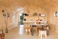 这个用硬纸板做的小房子 据说可以住 50 年