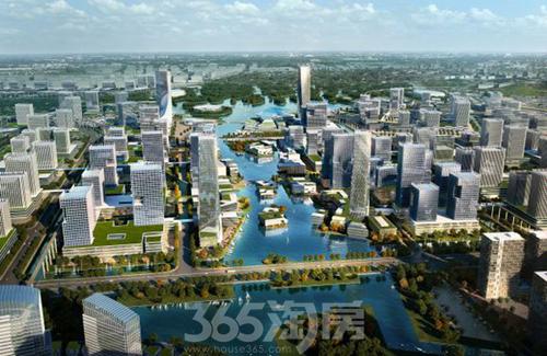 未来科技城规划效果图