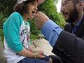 加拿大一男子用松鼠帮女儿拔牙【组图】