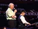"""但昭义长江钢琴大师班在肥开讲  """"钢琴双姝""""展精湛琴艺【组图】"""