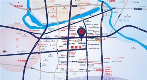 城市的发展就是大圆套小圆的过程