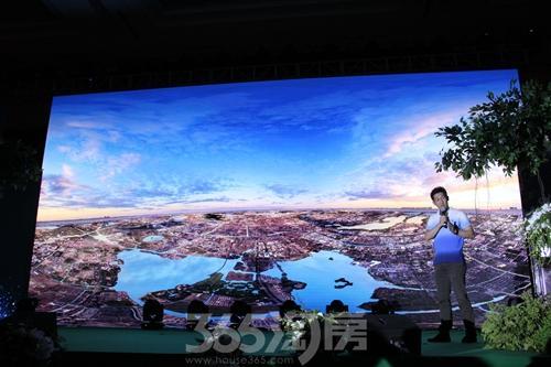 世茂苏州片区营销负责人朱明先生