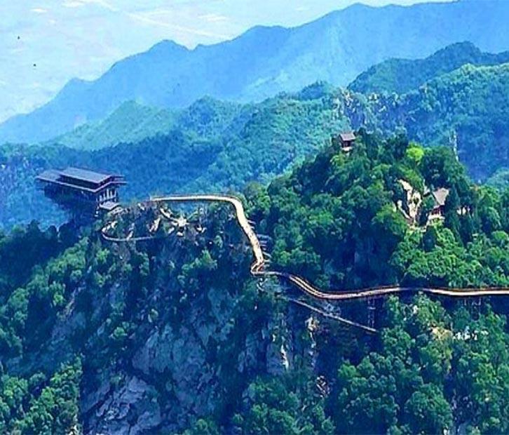 浙江小华山风景图片