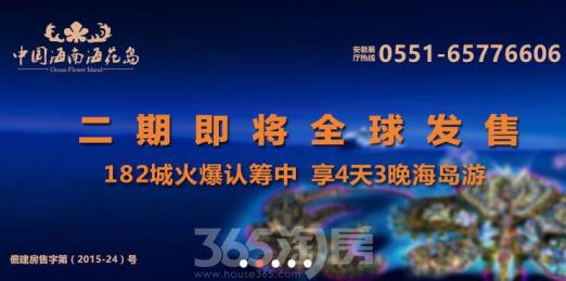 中国海南海花岛项目宣传图