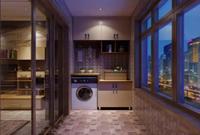 阳台装一柜 洗衣、收纳不用愁!