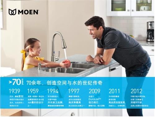 摩恩—厨房水槽龙头改造