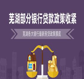 芜湖各大银行最新房贷摸底