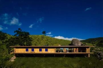 巴西亲近自然环保度假别墅 与自然环境全接触