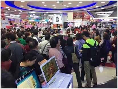 国美12.10销售额破52亿千家门店掀抢购热潮