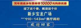 新乡宝龙广场 110-143㎡宽厅阔府 品质晋级