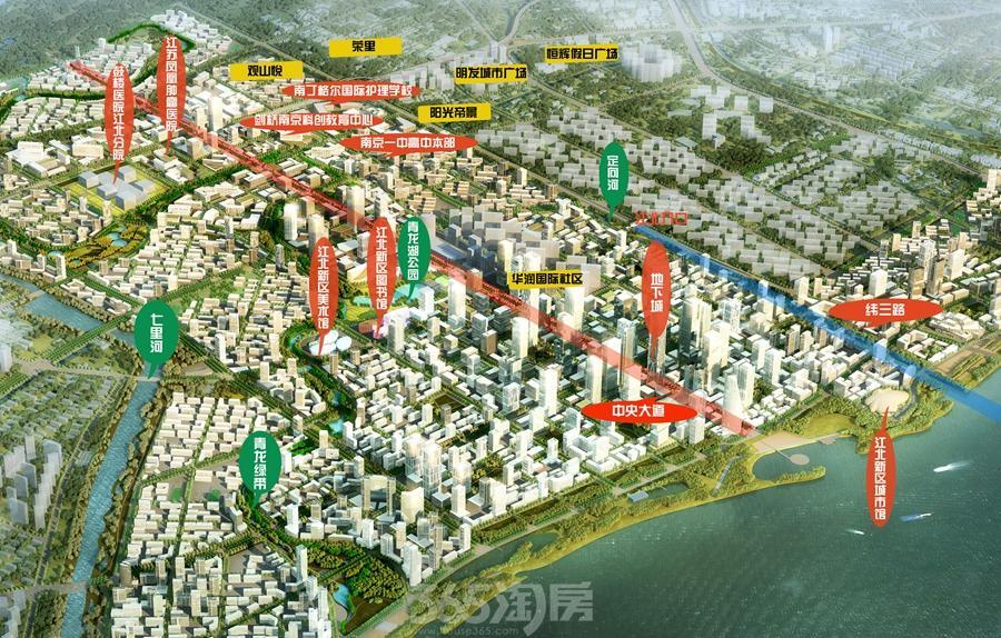 实探江北核心区重大城建!桥北新商业首曝光