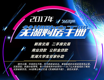 2017芜湖购房手册