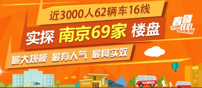 春晓行动 | 近3000人62辆车齐发 实探南京69家楼盘
