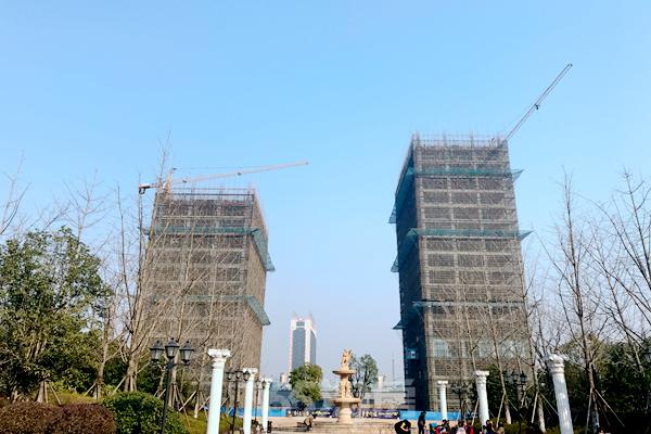 2月循迹中央城学府金座 最新工程进度抢先看