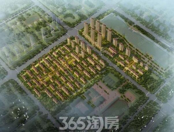 融创臻园规划图详解 2517套房首开约840套