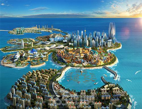 2017海南501个重点项目拟投资2288亿 海花岛榜上有名