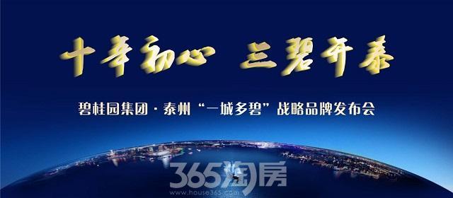 """碧桂园集团·泰州""""一城多碧""""战略品牌发布盛典恢宏启幕"""