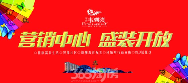 平安丰湖湾 营销中心 全新升级 盛装开放!
