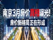 南京3月各大板块房价一览