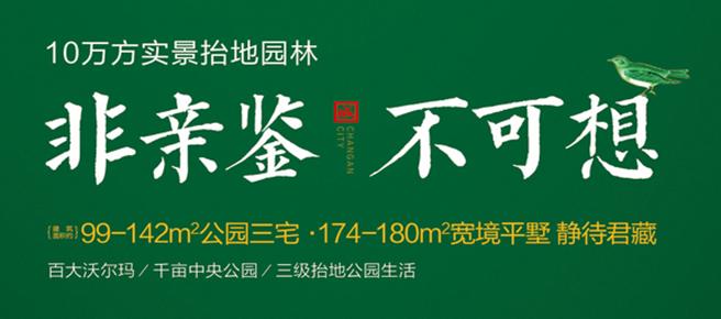 专题:长安城 10万方抬高园林 正在热销中