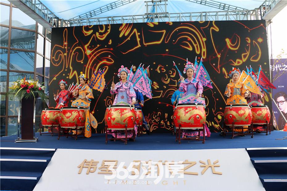 《京剧战鼓》表演环节
