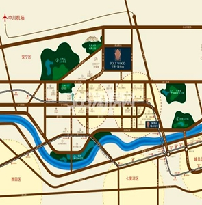 保利领秀山交通图