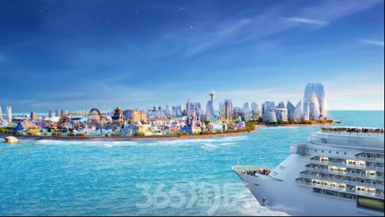 """中国海南海花岛:再过三年 给你一个更""""炫酷""""的海南"""