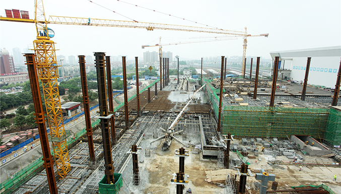 芜湖新火车站西广场加快建设