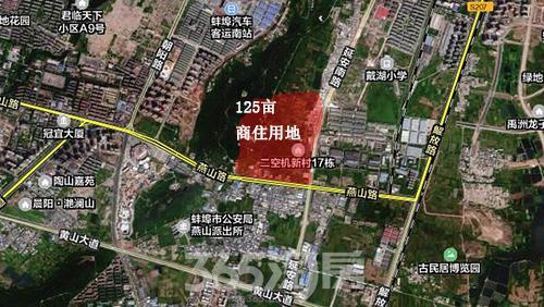 126亩土地卫星图