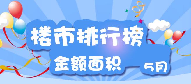 5月份郑州楼市销售排行榜