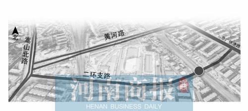"""郑州二环支路:我曾是黄河路的""""替身"""""""