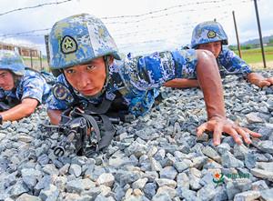 海军陆战队特种障碍训练,敢来吗?