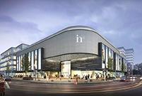 好几个新商场将开业