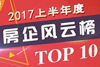 2017上半年度杭州房企排