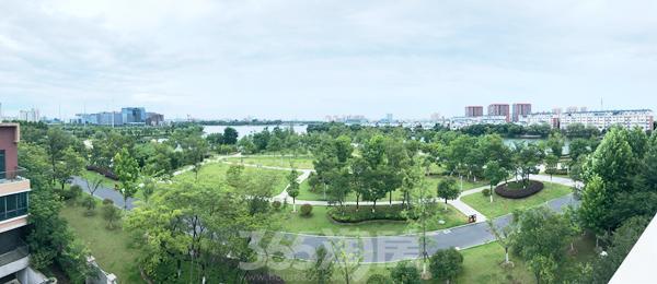 银湖公园实景