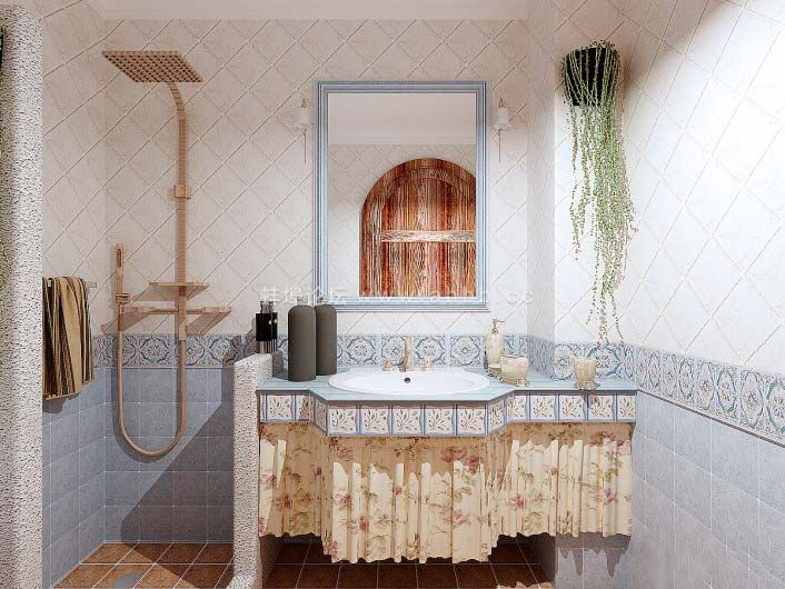 砖砌洗手台维修不易,施工要点提早了解!