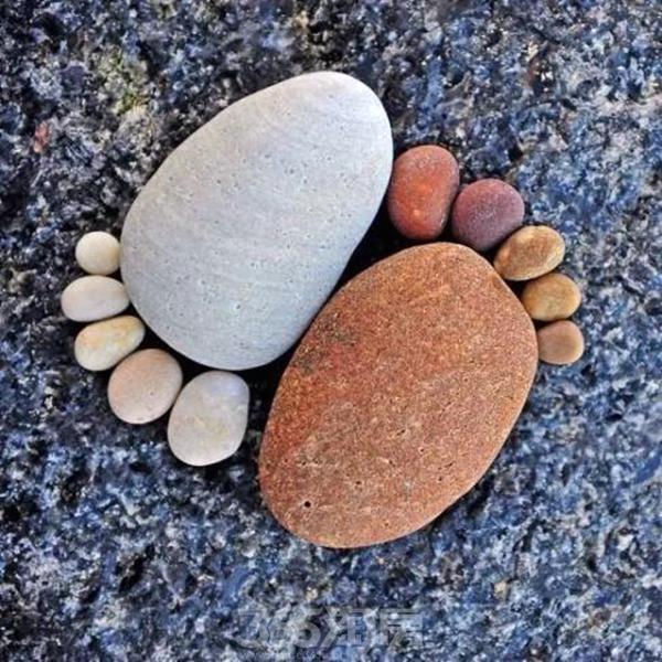 鹅卵石养生道