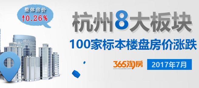 杭州100个住房真实价格曝光