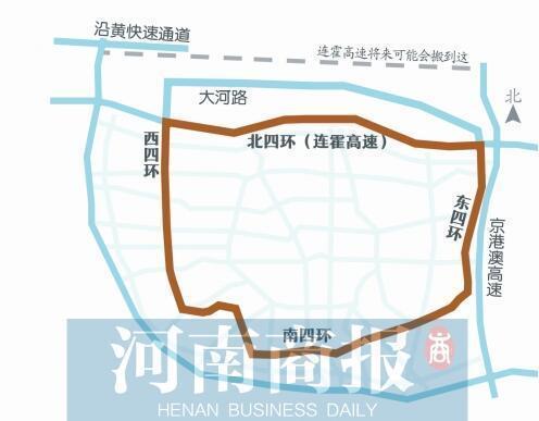 郑州北四环规划确定 将对北区房价有何影响?