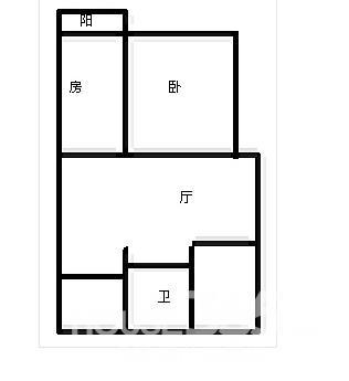 【地铁口仙鹤茗苑顶楼带阁楼实际面积可达一百平方