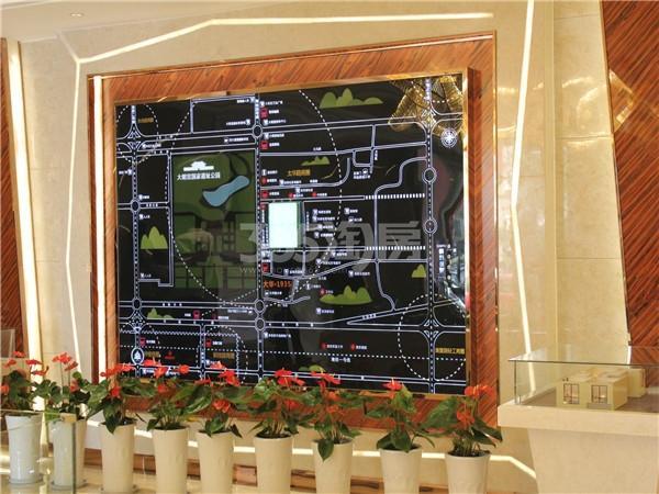 中天锦庭二期售楼部区位图