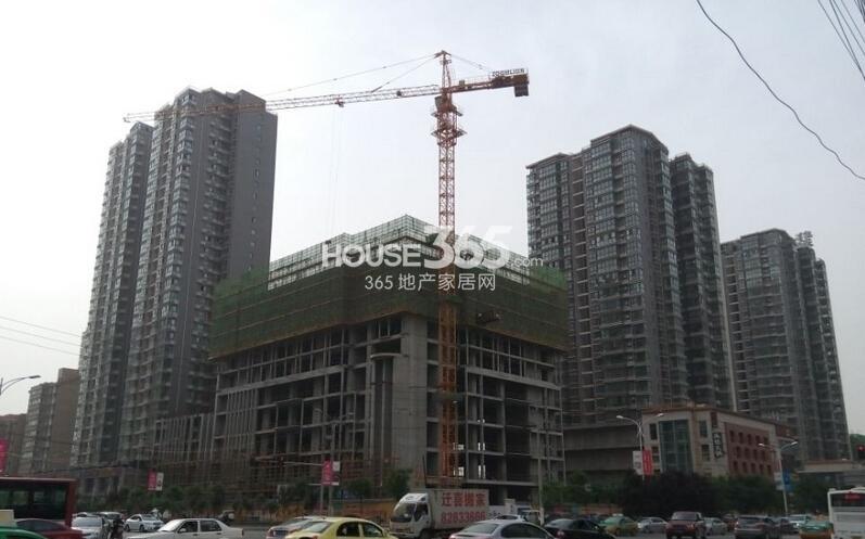 紫郡长安F3号楼施工进度(2014.4.27)