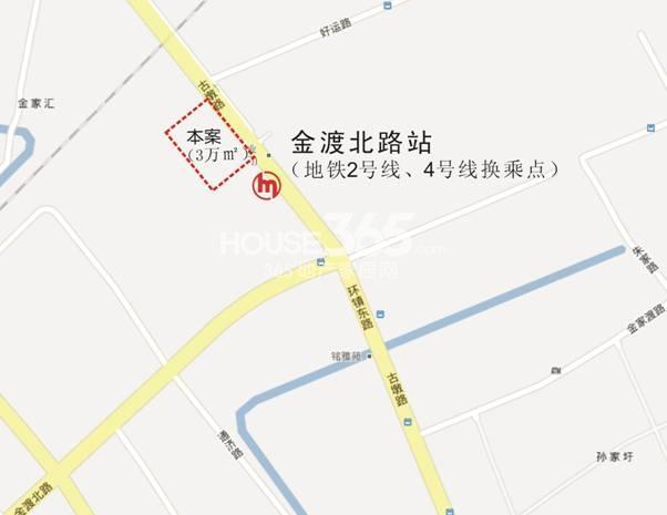 原禾大厦交通图