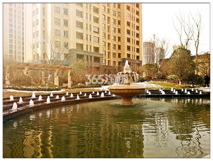 绿地中央广场 冬