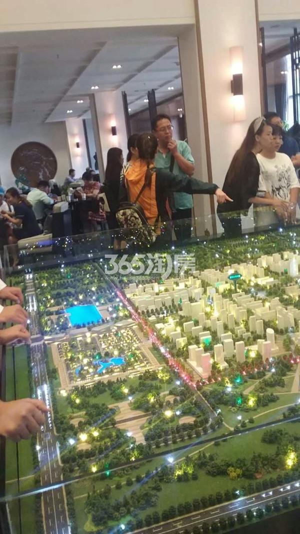 孔雀城创领小区售楼处实景图