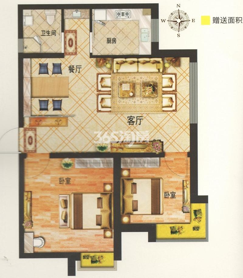 上层观邸户型图