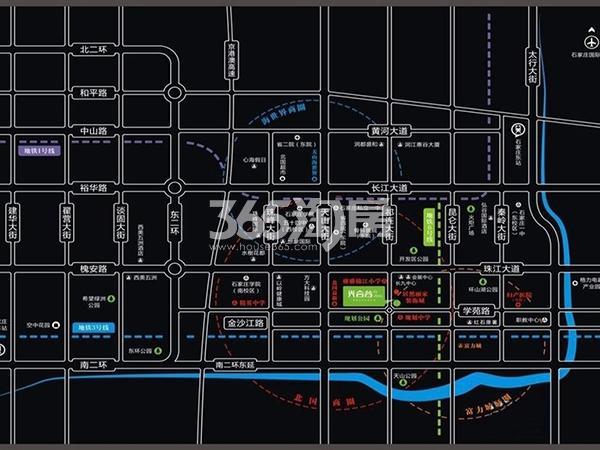 海纳光合谷交通图